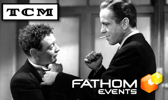 Humphrey Bogart in THE MALTESE FALCON 80th Anniversary Screening January 24th and 27th - Fathom Events TCM Big Screen Classics - We Are Movie Geeks