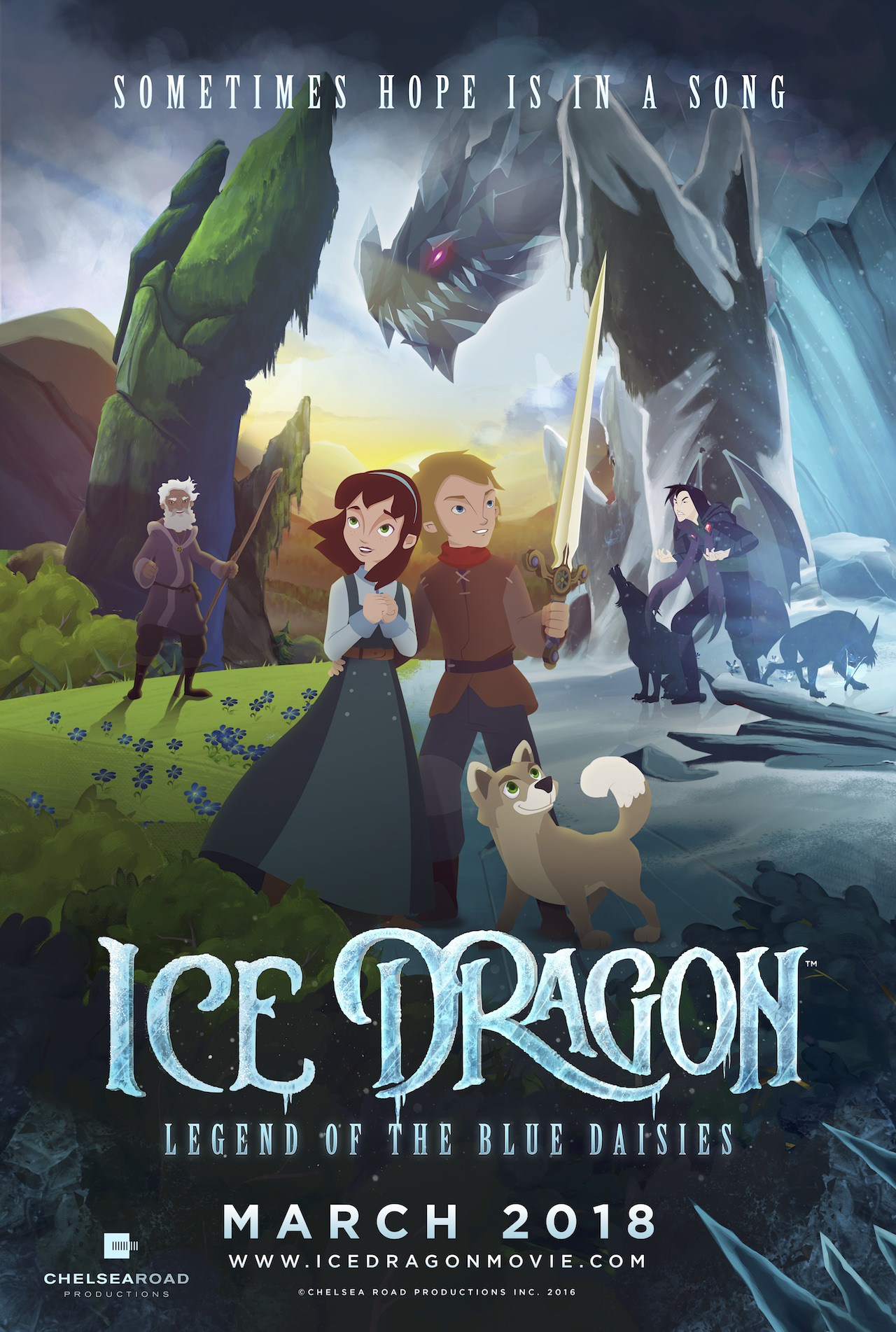 Ice Dragon: Legend of The Blue Daisies Review