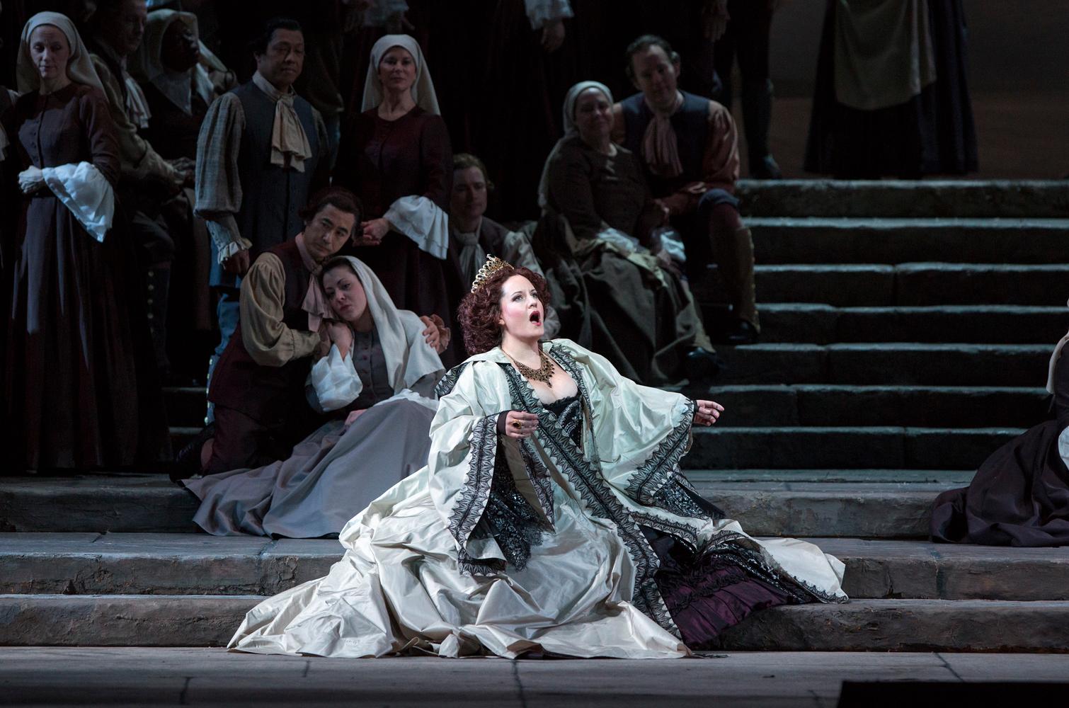 Elza van den Heever as Elettra in Mozart's Idomeneo.
