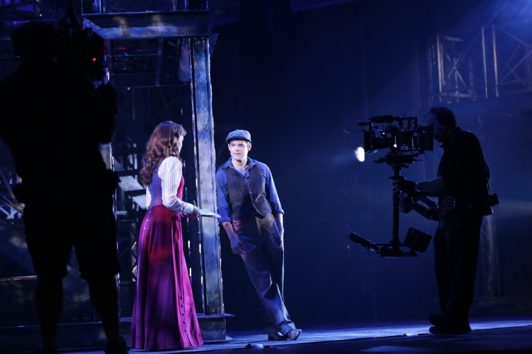 Inside the Los Angeles Filming of Newsies | Playbill