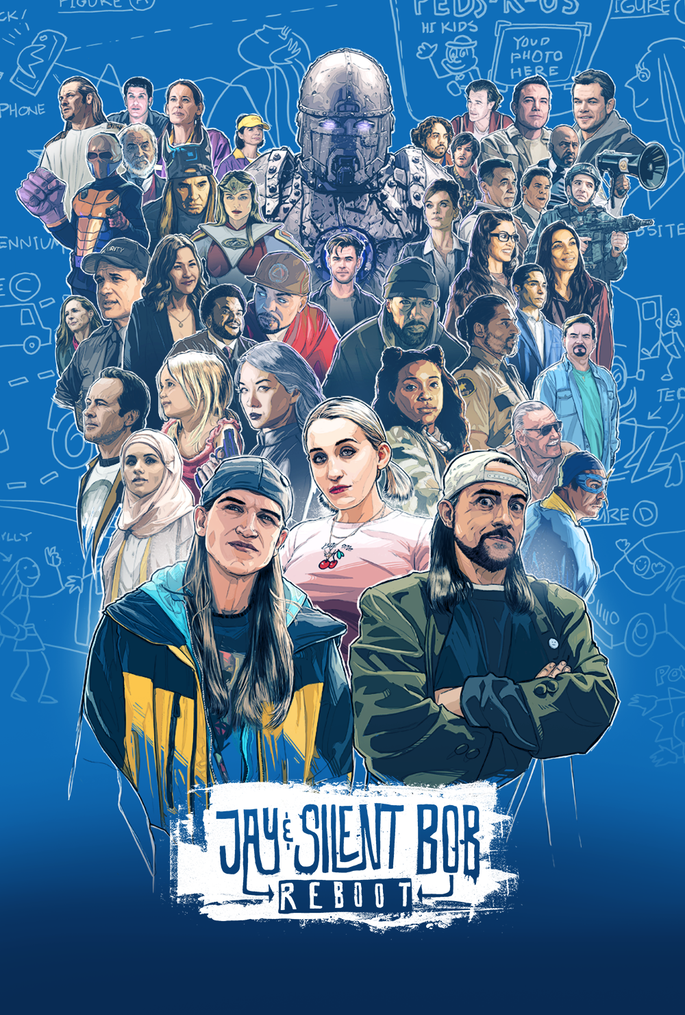 Image result for Jay and Silent Bob Reboot
