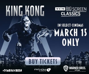 King Kong returns to cinemas March 15 only!