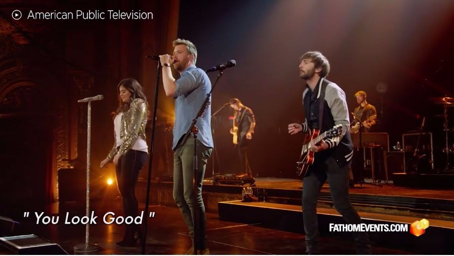See Lady Antebellum's Thumping, Live 'You Look Good'