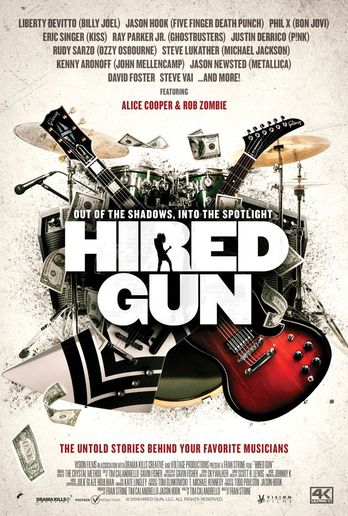 "Metallica, Ozzy Osbourne backup players brought forward in music doc ""Hired Gun\"""