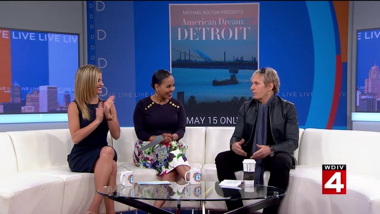 Michael Bolton shines a light on Detroit