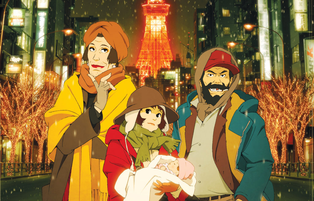 New Tokyo Godfathers English Dub Previewed Ahead of Screenings