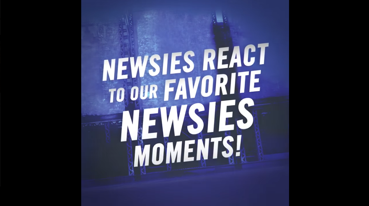 Newsies React to Our Favorite NEWSIES Moments: Macy's Thanksgiving Day Parade