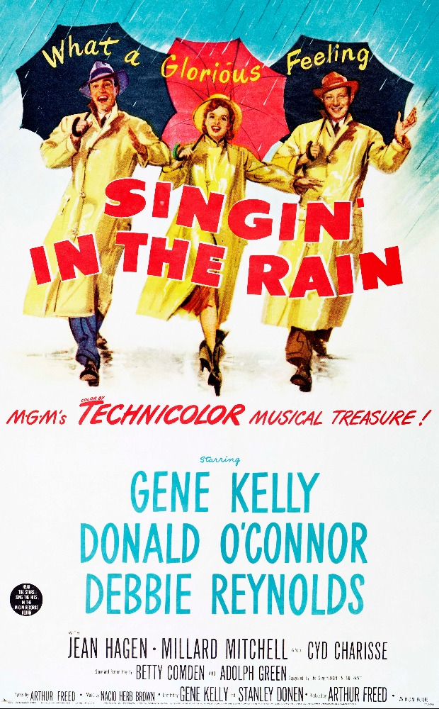 an analysis of how rising broadway stars live in the movie musical singin in the rain