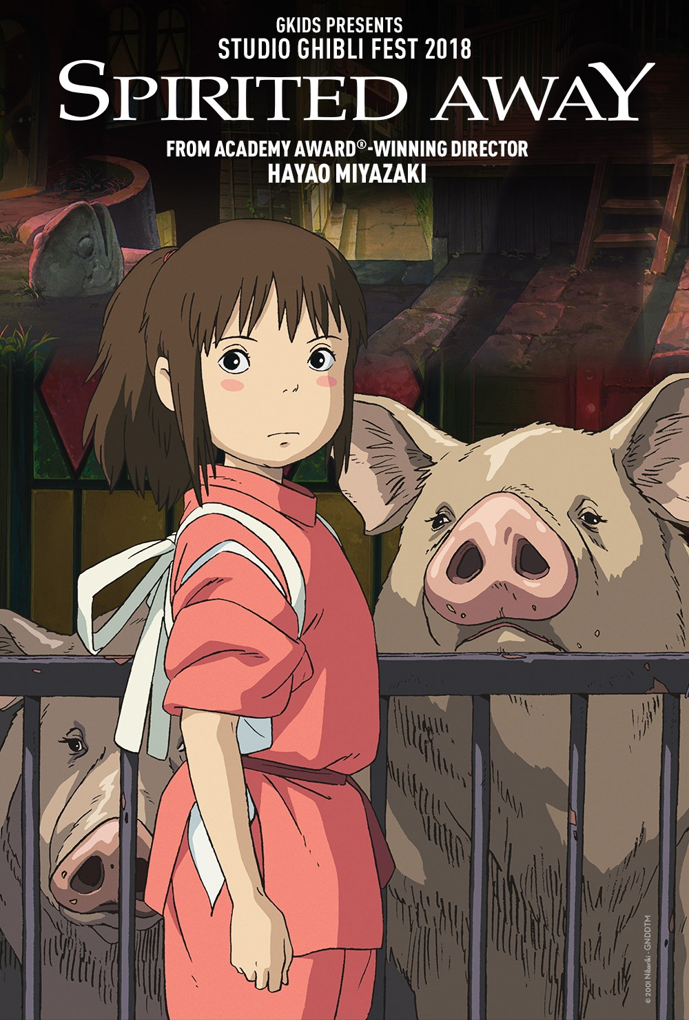Spirited Away In Movie Theaters