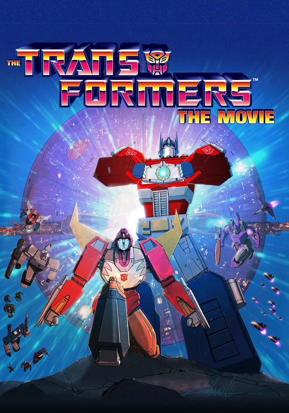The Transformers 1986 Movie Event In Movie Theaters Fathom Events