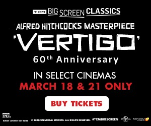 Vertigo returns to cinemas for a special 60th Anniversary event!