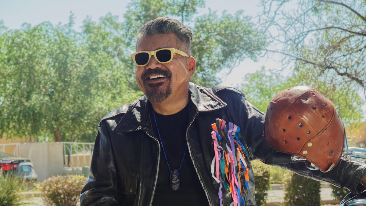 'Walking With Herb': George Lopez is God's Harley-riding messenger