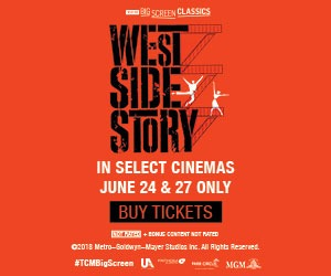 West Side Story returns to the big screen June 24 & 27!