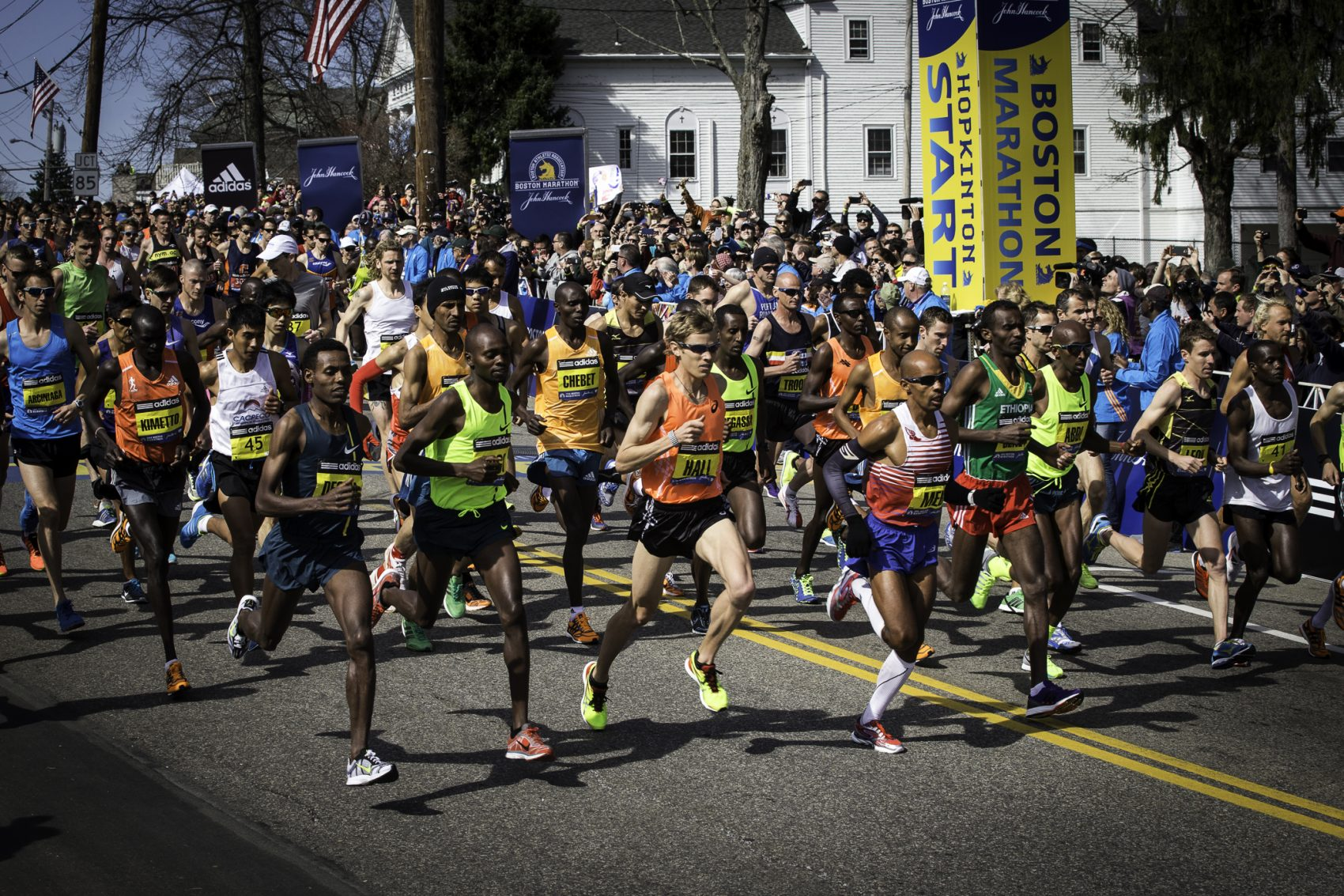 'Boston' Marathon Documentary Roots Tragedy In The Race's Deep History