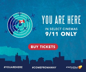 You Are Here A Come From Away Story in cinemas 9/11 only
